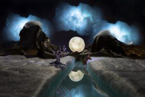 Noche de luna 90mm f-16 Exp111 Seg ISO200