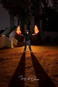- Jugando con Fuego - 14mm - f-5.6 - Exp. 38Seg - ISO320
