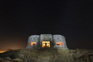 "- Bunker Cabo de Plata II - 14mm f-5.6 - exp 87"" - ISO400"
